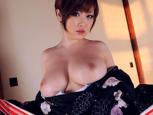 【ヌード画像】着物美人の脱ぎかけヌードがレベル高杉w 14
