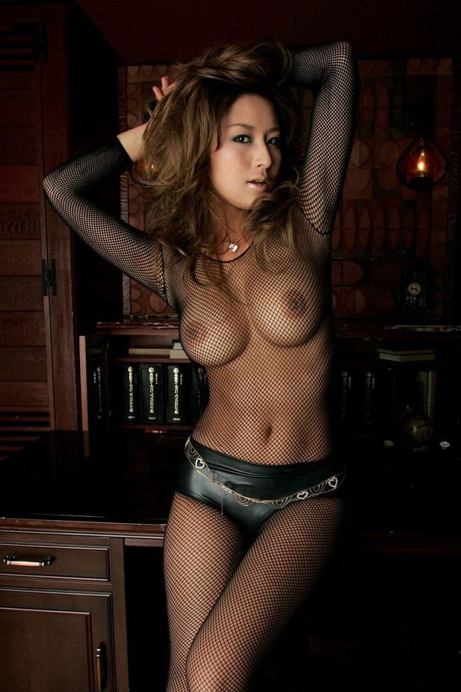 【ヌード画像】網タイツ美女の裸体に欲情しそうw(35枚) 30