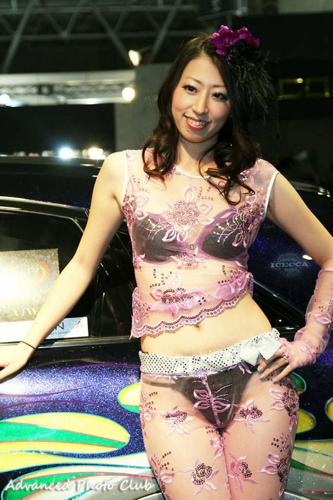 【ヌード画像】レースクイーンのパンチラ・胸チラ・セミヌード画像(33枚) 07