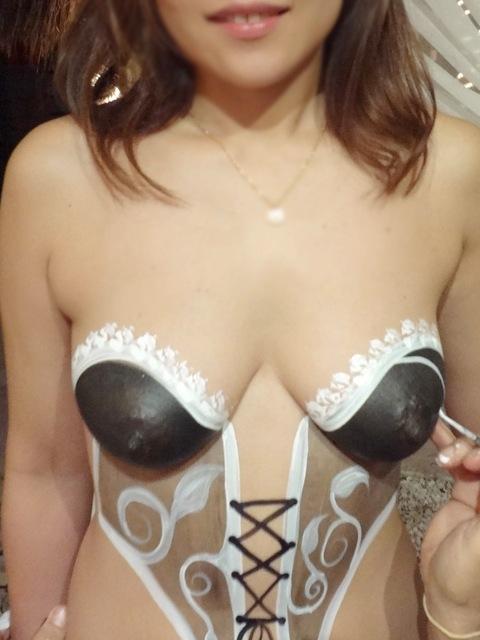 【ヌード画像】裸にボディペイントwよく見ると丸出しw(31枚) 28