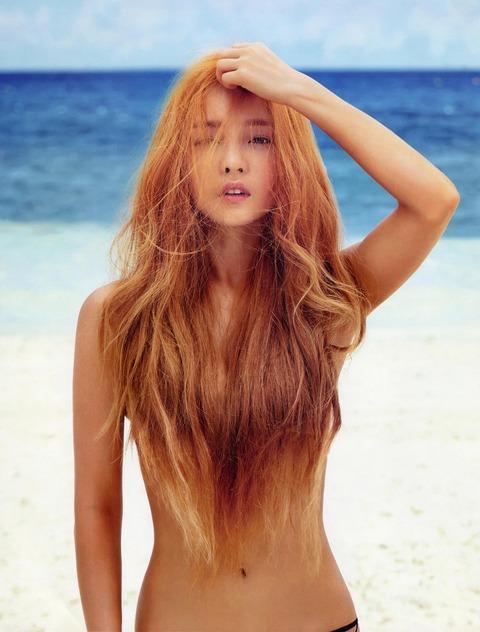 【ヌード画像】美女の髪ブラが大興奮必至のエロさw(31枚) 21