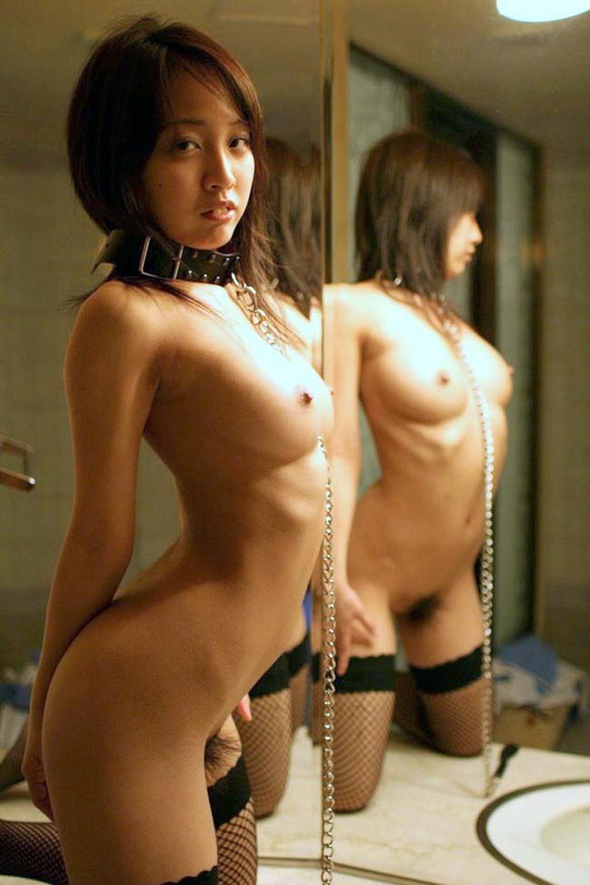 【ヌード画像】鏡に映る美女たちの可憐な裸体(32枚) 31