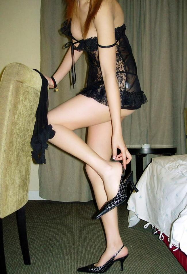 【ヌード画像】下着姿の美女がハイヒールを履いて更にセクシーに!(31枚) 04