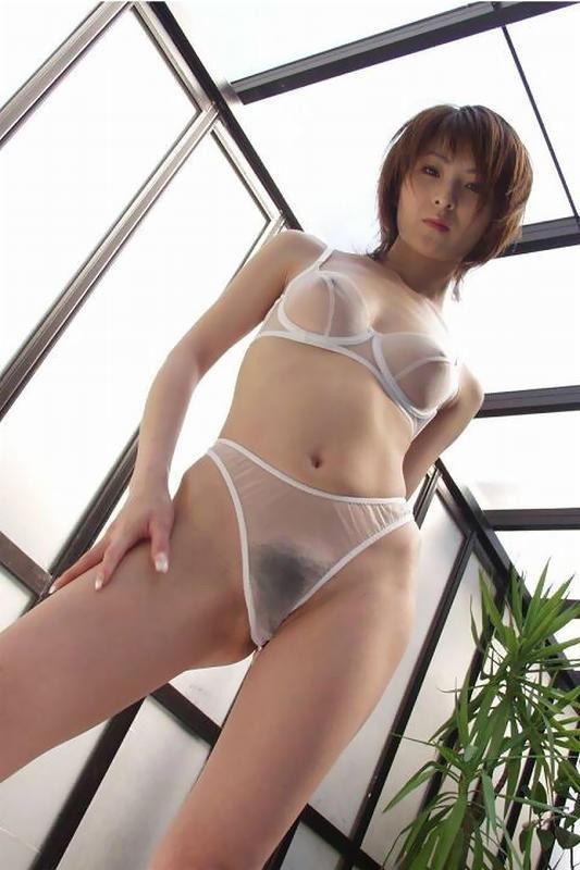 【ヌード画像】シースルー下着美女のスケスケ感w(31枚) 05