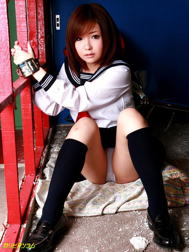 【ヌード画像】制服美女の着衣エロ姿が激萌えw(35枚) 31