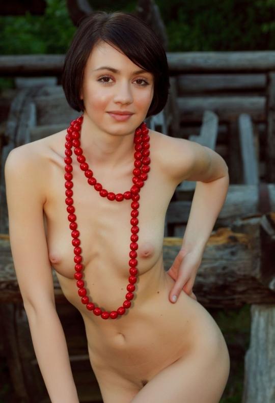 【ヌード画像】外国人美女のスレンダーな裸体が綺麗すぎw(33枚) 19