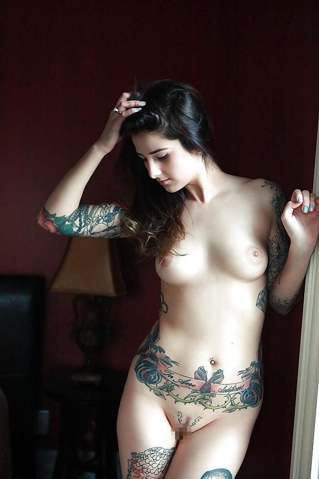 【ヌード画像】身体にタトゥーを入れた美女たちのヌード画像(33枚) 29
