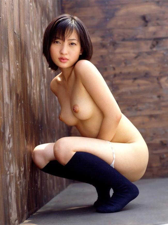 【ヌード画像】靴下を履いた女の子に興奮してきたw(30枚) 16