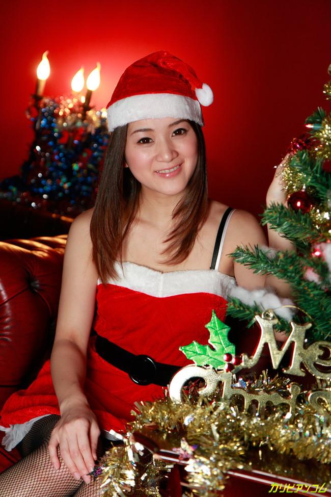 【ヌード画像】サンタ美女のエロ画像は見ていると癒されるw(33枚) 09