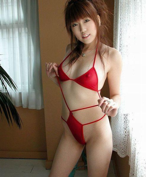 【ヌード画像】美女の赤い下着姿が情熱的すぎw(33枚) 32