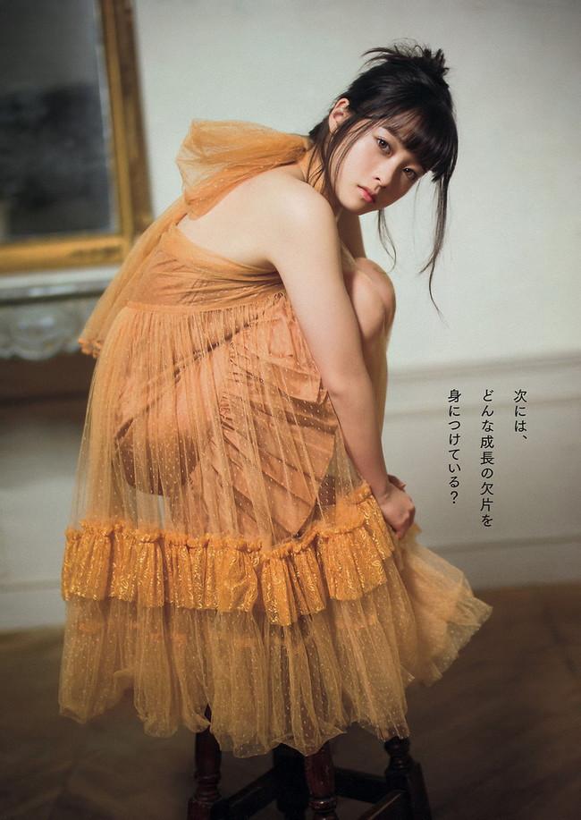 【ヌード画像】橋本環奈の天使すぎるセクシーグラビア画像(31枚) 06