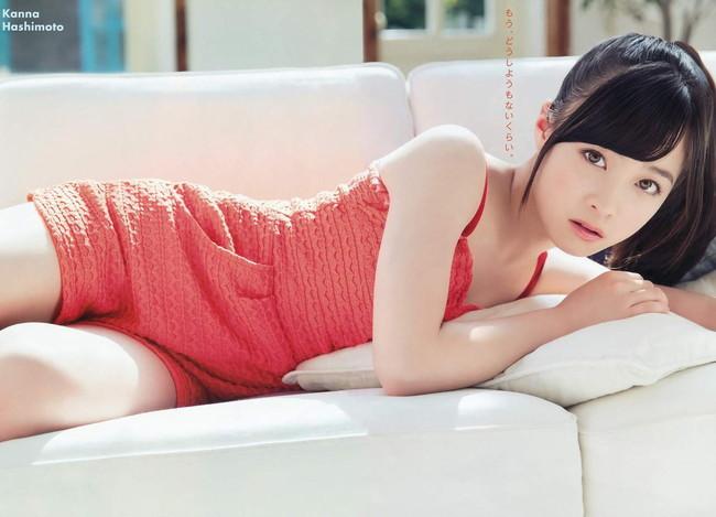 【ヌード画像】橋本環奈の天使すぎるセクシーグラビア画像(31枚) 28