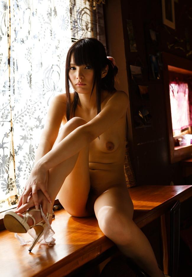 【ヌード画像】みほのの黒髪が美しいヌード画像(33枚) 11