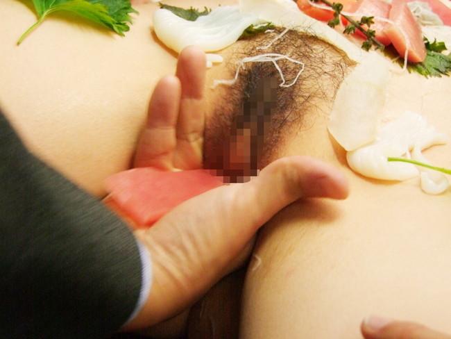 【ヌード画像】バブル時代の置き土産、女体盛りヌード画像がアホすぎてエロすぎる!(50枚) 24