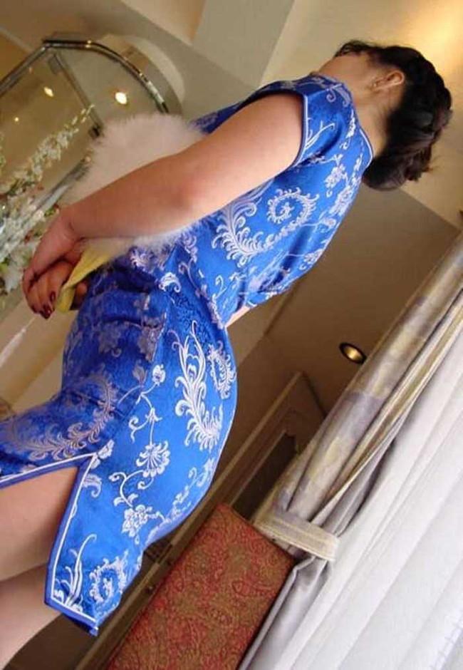 【ヌード画像】チャイナドレスってきらいな野郎はいないよな!スリットとパツパツ具合にコーフンするチャイナドレス画像集(50枚) 15