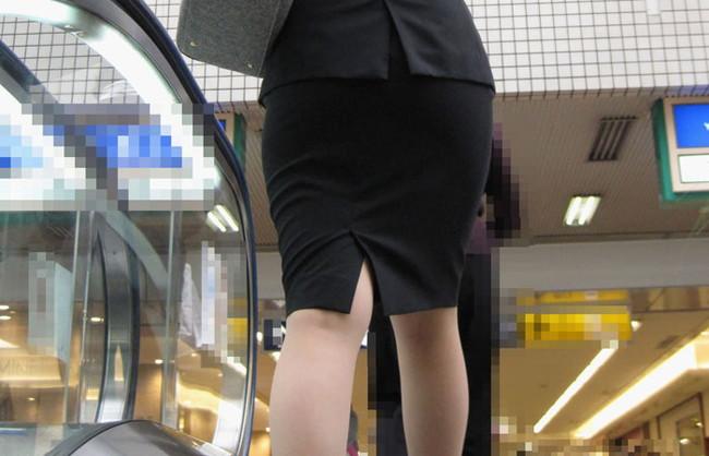 【ヌード画像】エロい!エロいぞリクルートスーツ!この初々しさとぴったりお尻のギャップ感がたまりません!(50枚) 17