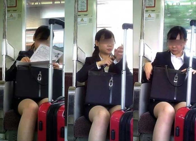 【ヌード画像】エロい!エロいぞリクルートスーツ!この初々しさとぴったりお尻のギャップ感がたまりません!(50枚) 23