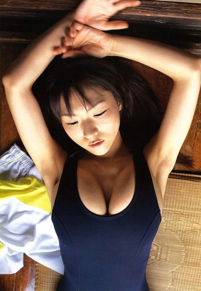 【ヌード画像】青春を思い出す競泳水着とスクール水着の画像(30枚) 10