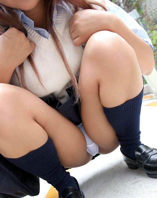 【ヌード画像】美少女JKが制服からチラ見せしてくれている画像まとめ(30枚) 24