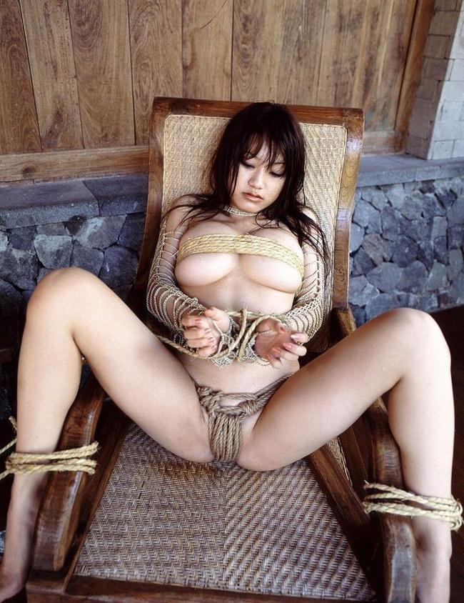【ヌード画像】M奴隷が縄で縛られた際に浮かべる儚い表情の画像(31枚) 29