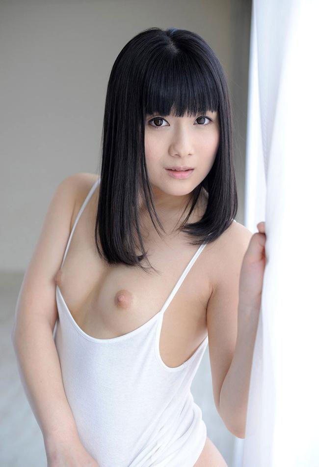 【ヌード画像】大正義・黒髪ロング美少女&お姉さんのヌード画像(34枚) 14