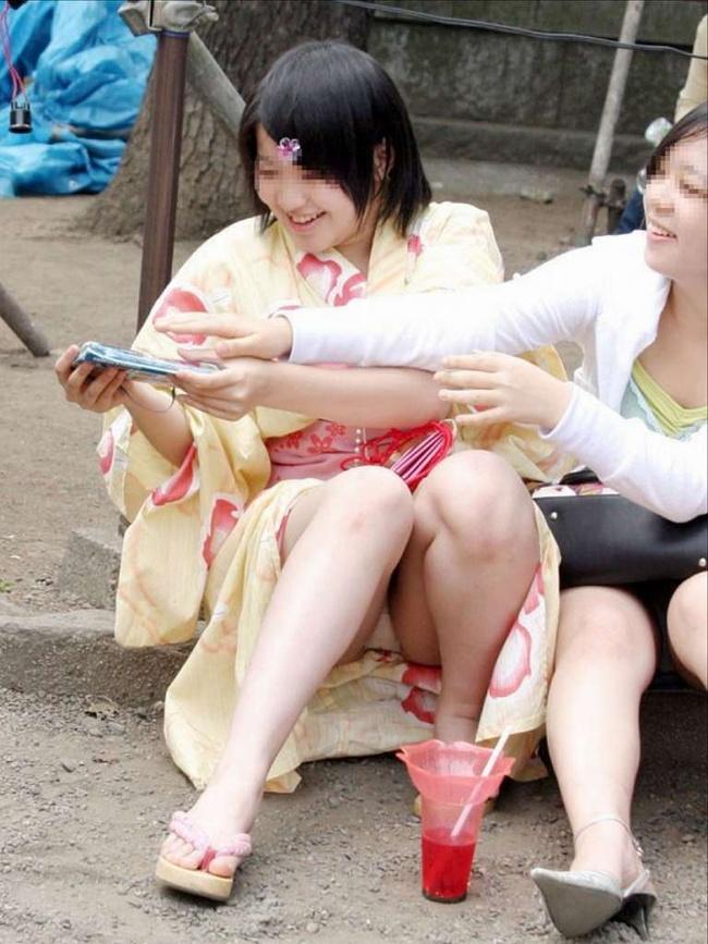 【ヌード画像】温泉旅行や祭り帰りに脱がしたい浴衣(32枚) 06