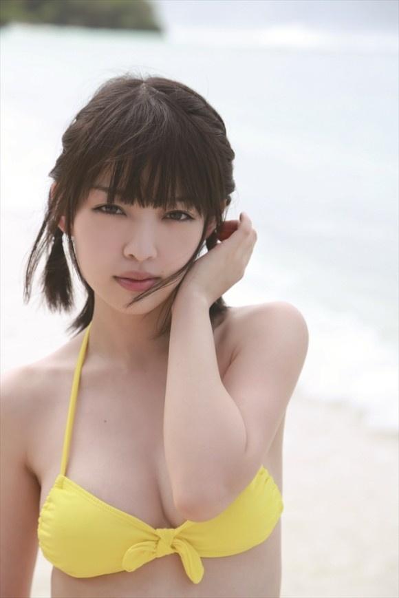 【ヌード画像】清楚なお嬢様系タレント安藤遥さんの水着画像(30枚) 14