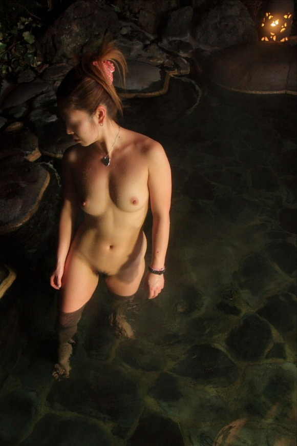 【ヌード画像】温泉で温まったしっとり女体のエロ画像(30枚) 29