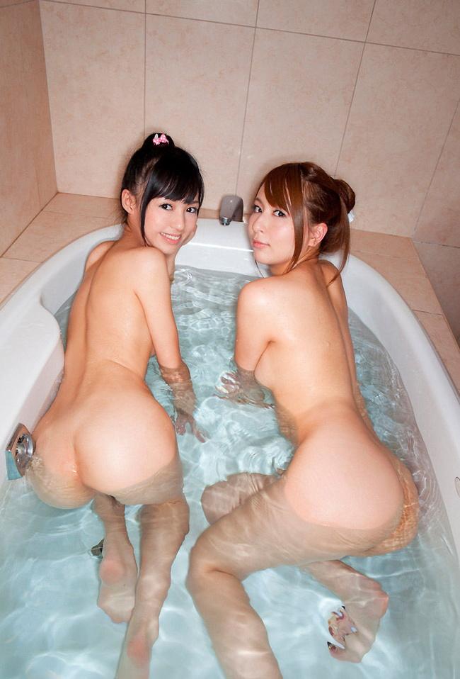【ヌード画像】風呂で四つん這いになった例の美尻ポーズ(30枚) 19