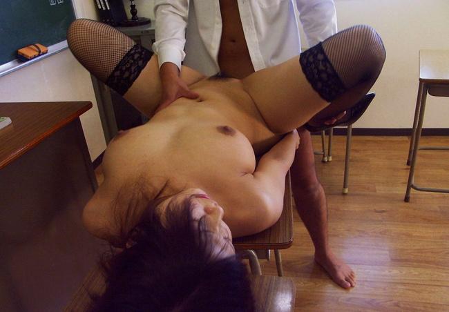 【ヌード画像】女教師という名のエロ専門の先生と教室画像(30枚) 28