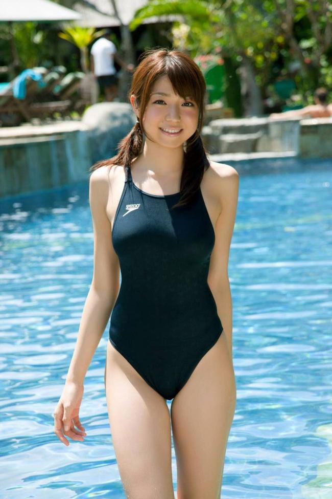 【ヌード画像】スク水・競泳水着は冬でもいけるのは何故か(30枚) 18