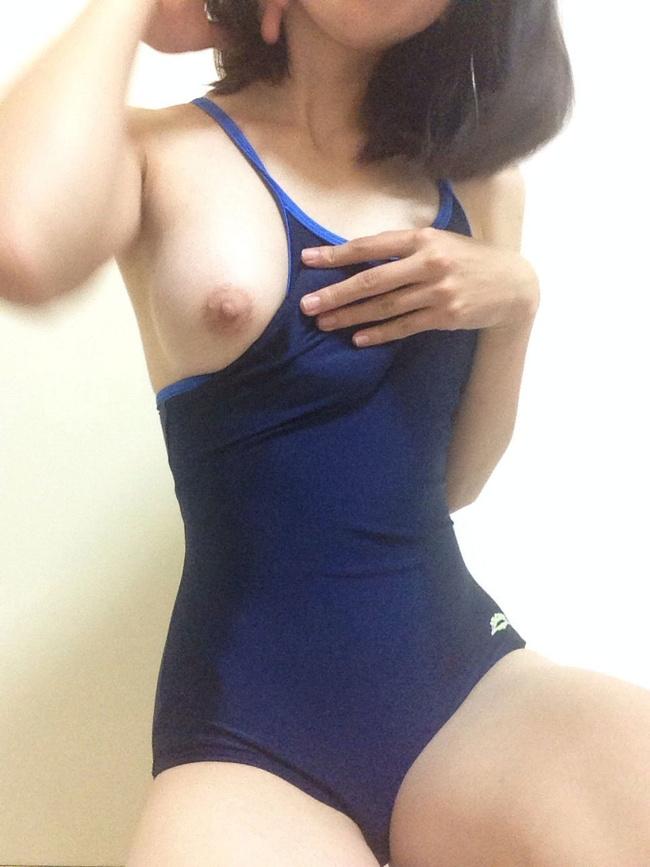 【ヌード画像】スク水・競泳水着は冬でもいけるのは何故か(30枚) 21